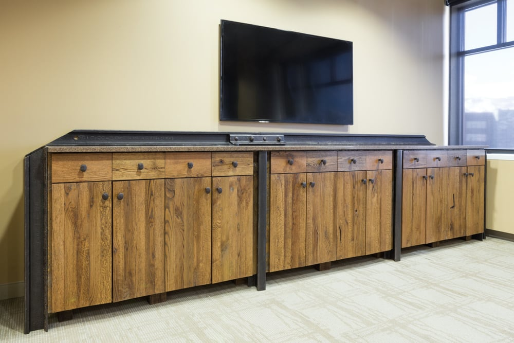 Custom Credenza and cabinets