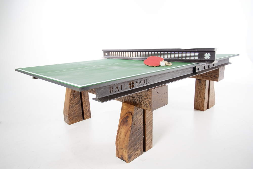 Click Clack Custom Table Tennis Ping Pong Table Custom Furniture Nashville  ...