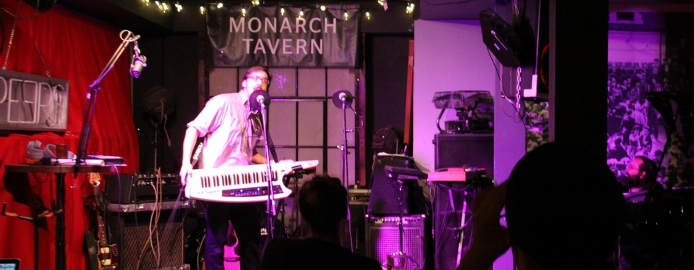Marty Topps at The Monarch Tavern. (Mark Loeser)
