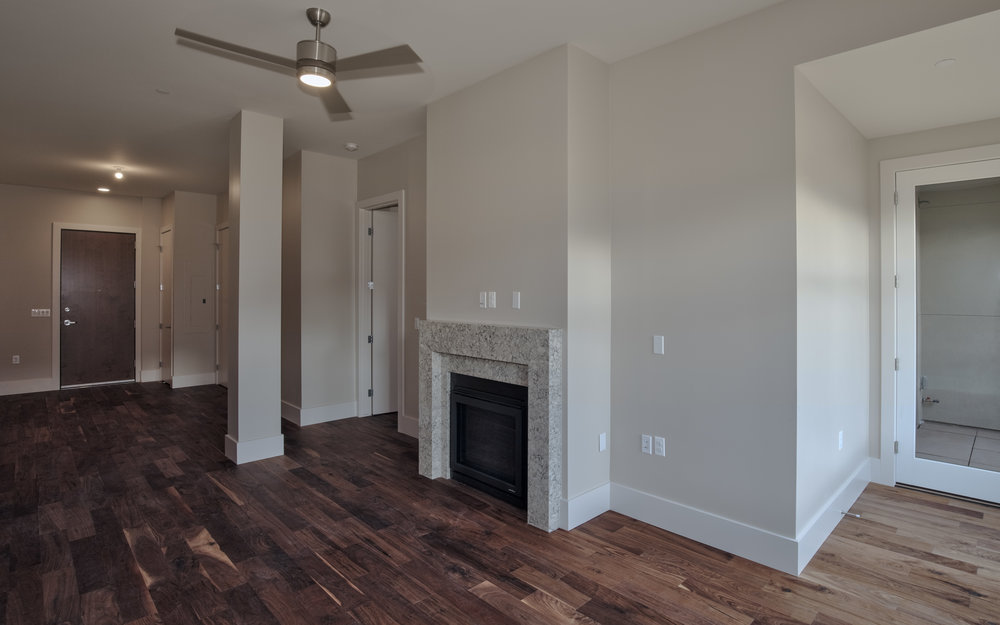 MINERS POINT  | 701 12th Street | Custom Fireplace and Hardwoods| Sold & Occupied Unit