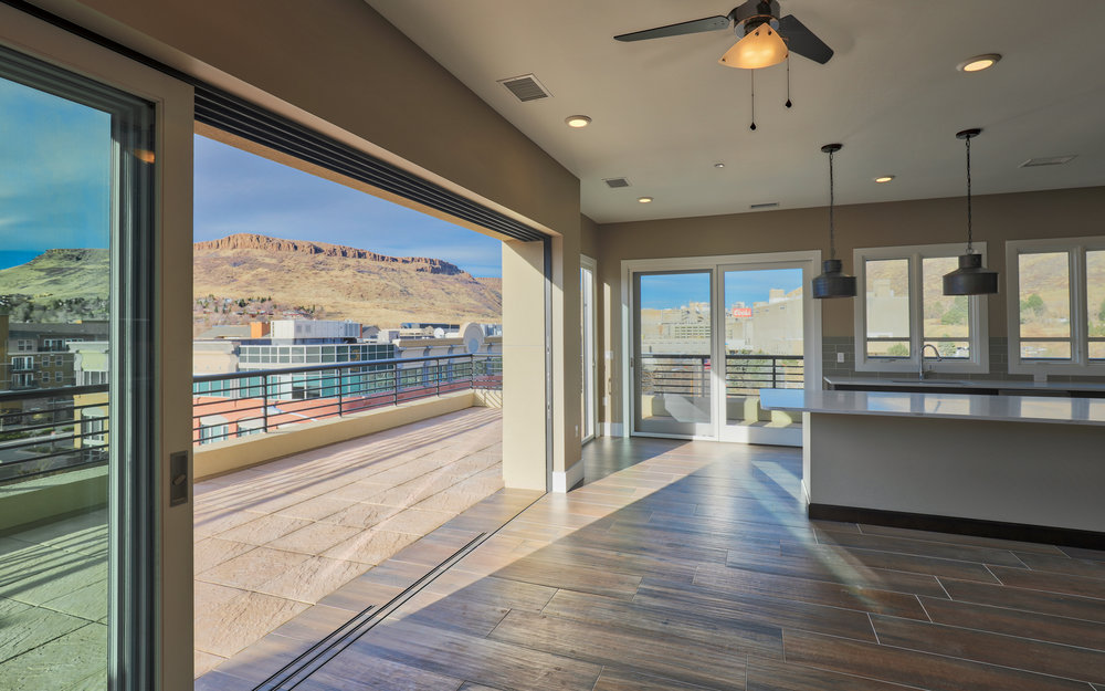 MINERS POINT  | 701 12th Street | Captivating Views from Corner Penthouse | Sold & Occupied Unit