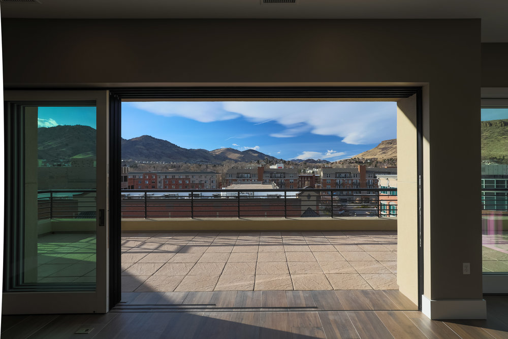 MINERS POINT  | 701 12th Street | Expansive Balcony with Sliding Glass Wall| Sold & Occupied Unit