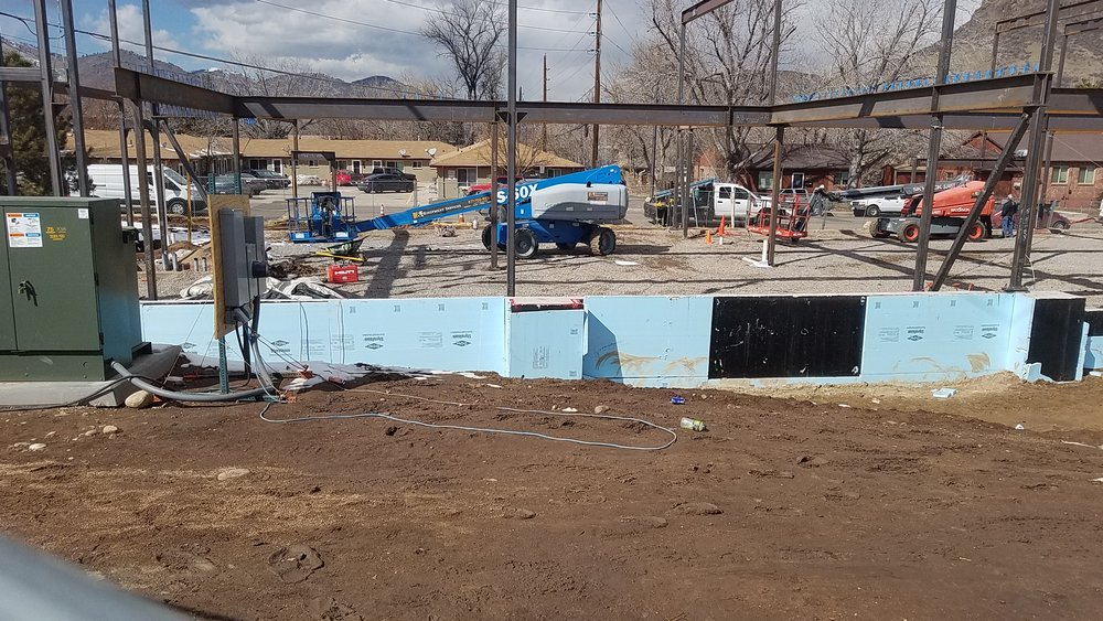 FOSSIL POINT   615 24th Street   Golden, CO 80401   Columns & Beams Erected