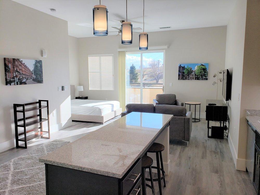 Studio Suites With Expansive Balconies