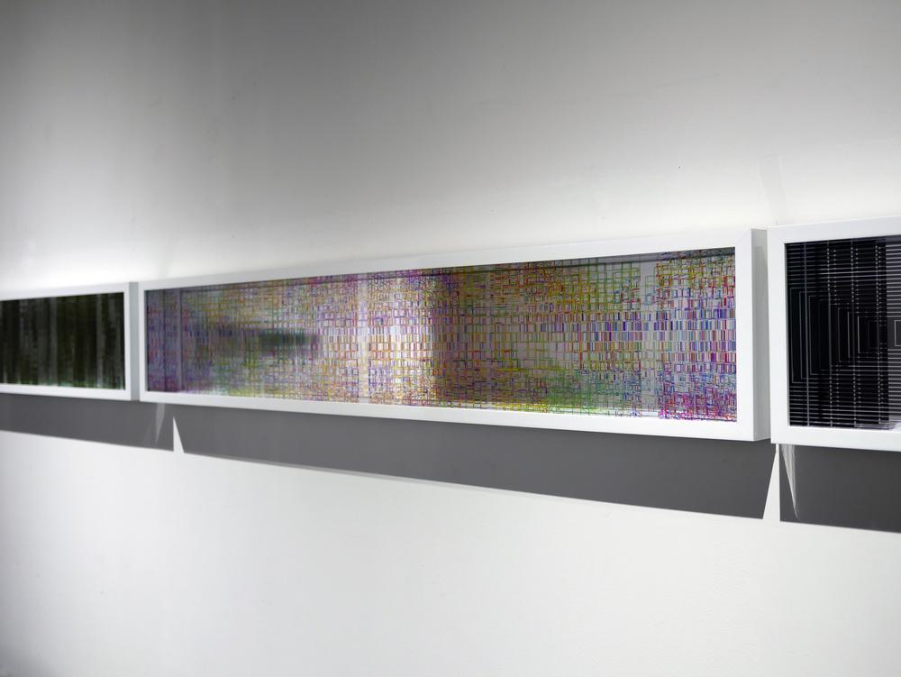"""Luftwerk """"Reflections"""" 2015 INsite video still, framed"""