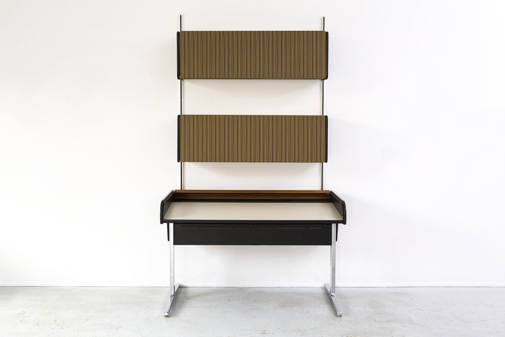 GEORGE NELSON ACTION OFFICE DESK + WALL UNIT FOR HERMAN MILLER