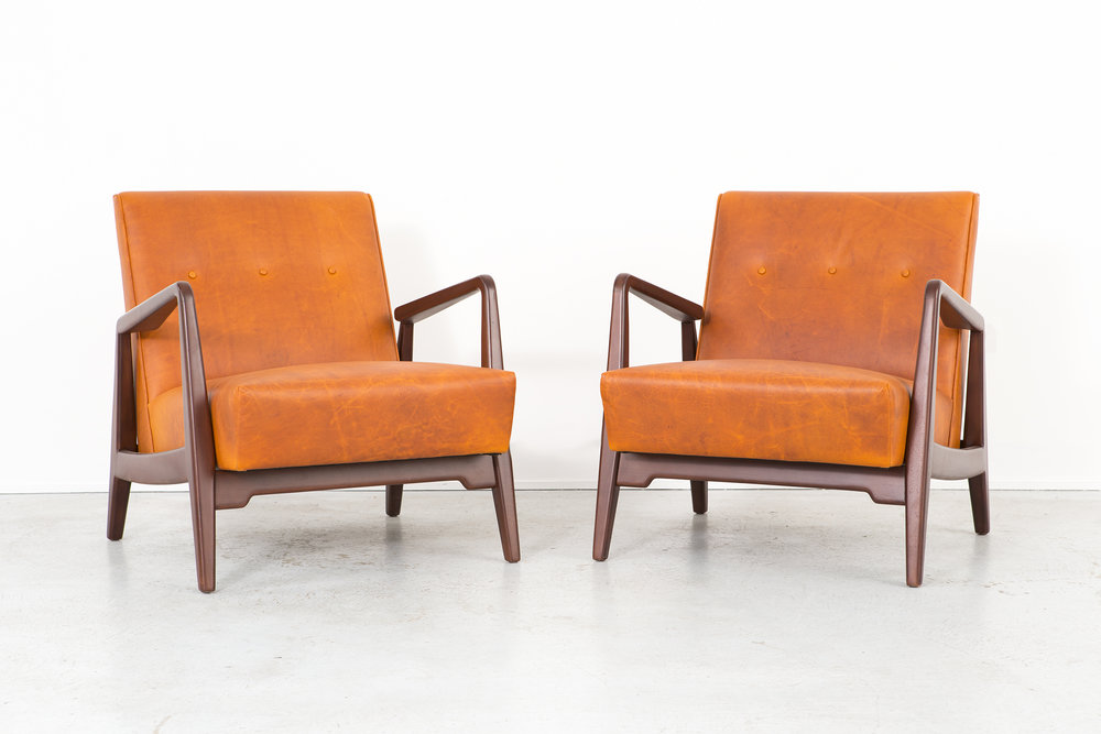 Set of Jens Risom Lounge Chairs.jpg
