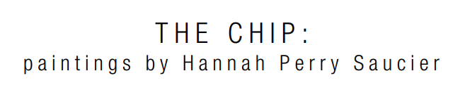 "Matthew Rachman Gallery is pleased to announce its next exhibition, ""The Chip"", featuring paintings by Hannah Perry Saucier. The Gallery will host an opening reception with the artist in attendance. How does the space of the mind change as we accumulate new experiences? As human beings, we are always collecting information and shifting our minds to fit the new while retaining the old. How we recall our memories often distorts over time. Hannah Perry Saucier's work presented in ""The Chip"" visually represents the organization of inner worlds and explores how the mind adjusts itself as we adapt and change. The exhibition will run July 28 - September 17."