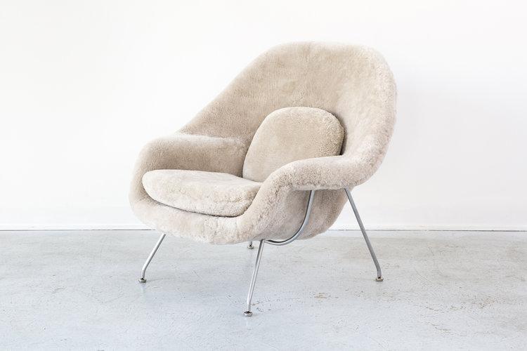 eero saarinen for knoll womb chair matthew rachman gallery