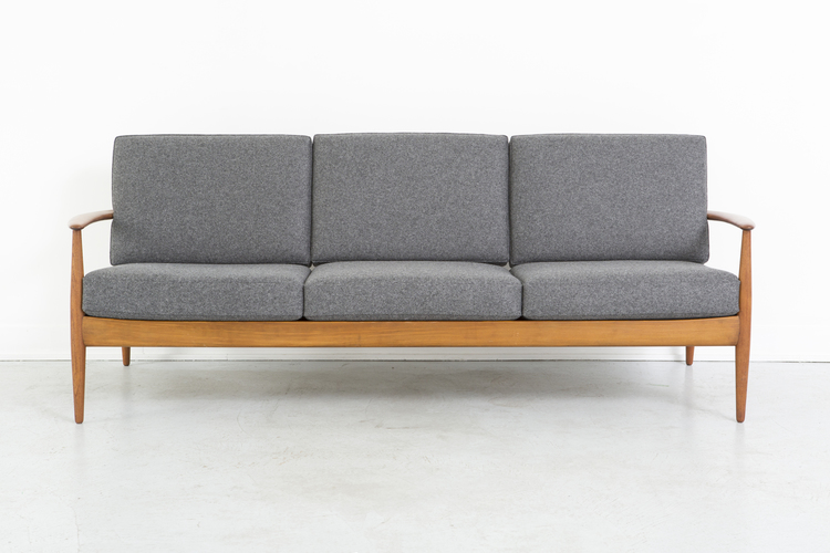 France + Daverkosen Teak Wood Sofa