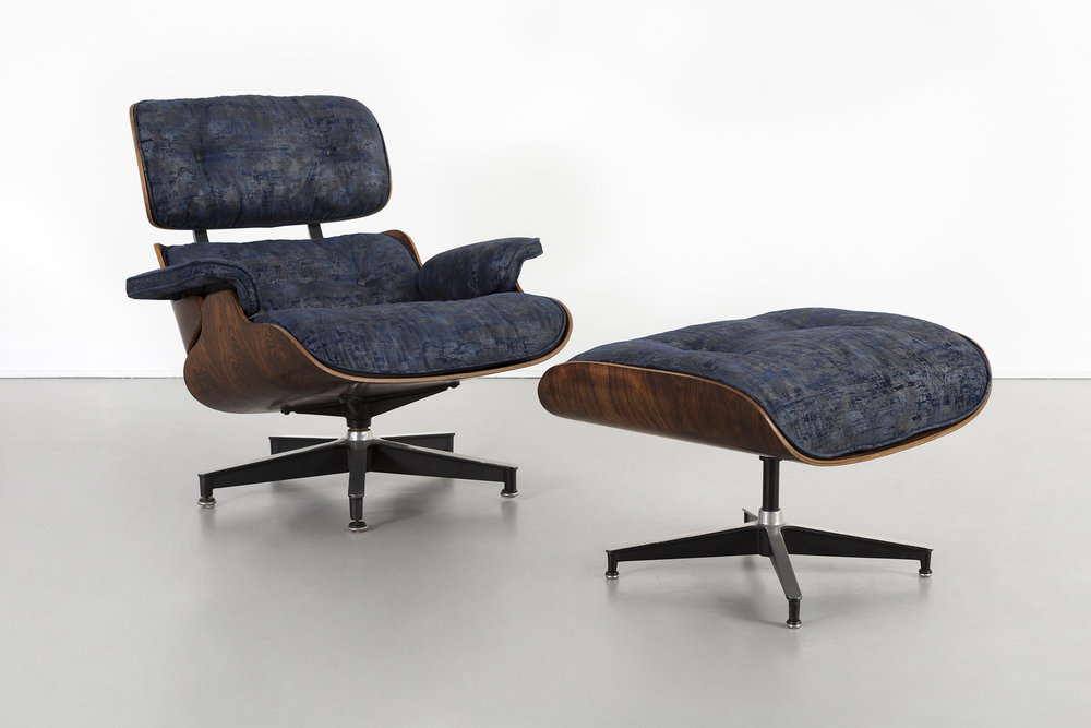 EARLY PRODUCTION EAMES ROSEWOOD LOUNGE CHAIR + OTTOMAN. 9_SMALL