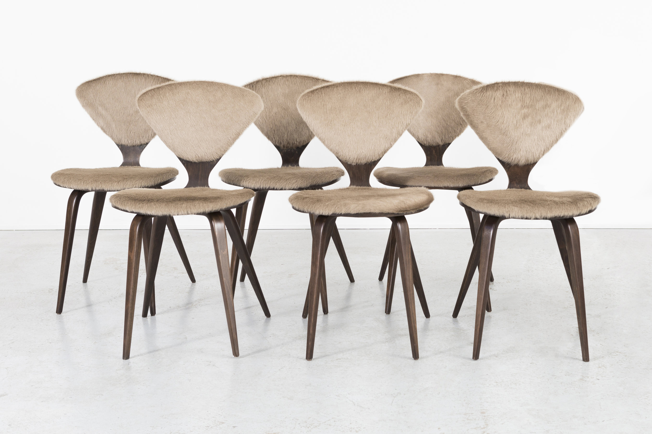 SET OF NORMAN CHERNER FOR PLYCRAFT DINING CHAIRS U2014 MATTHEW RACHMAN GALLERY