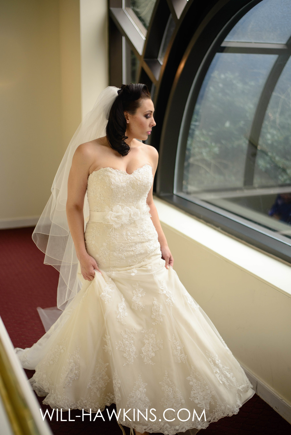 This gorgeous Stella York Gown was provided by The Inspired Bride.