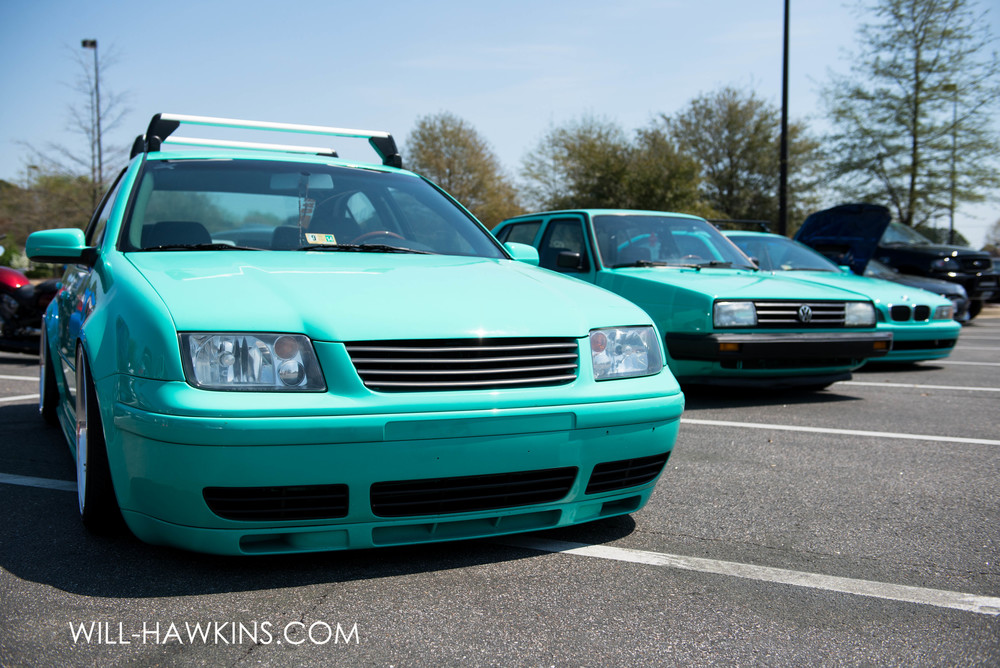Triple Mint Green!