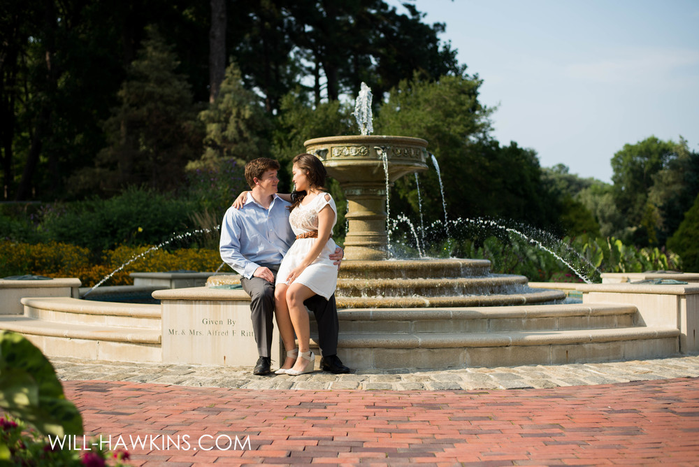 Norfolk Botanical Garden Photographer Will Hawkins Photography Engagement Photographer