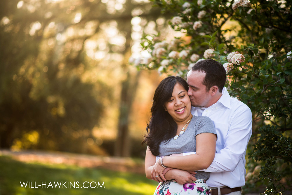 Audrey+John's E-Session at Botanical Garden's this past spring.