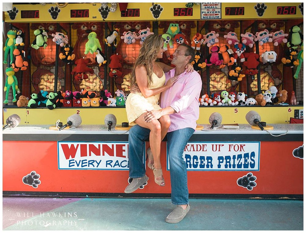 Will Hawkins Photography Virginia Beach Wedding Photographer Engagement Session Virginia Beach Fun Park