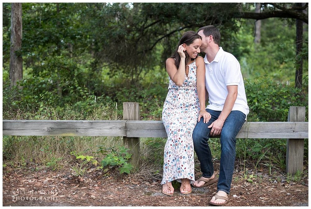 First Landing State Park Engagement Session Will Hawkins Photography Virginia Beach Wedding Photographer Hampton Roads Wedding Photographer