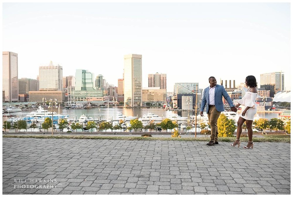 Baltimore Wedding Photographer, Will Hawkins Photography, Baltimore Engagement Session, American History Art Museum Engagement Session