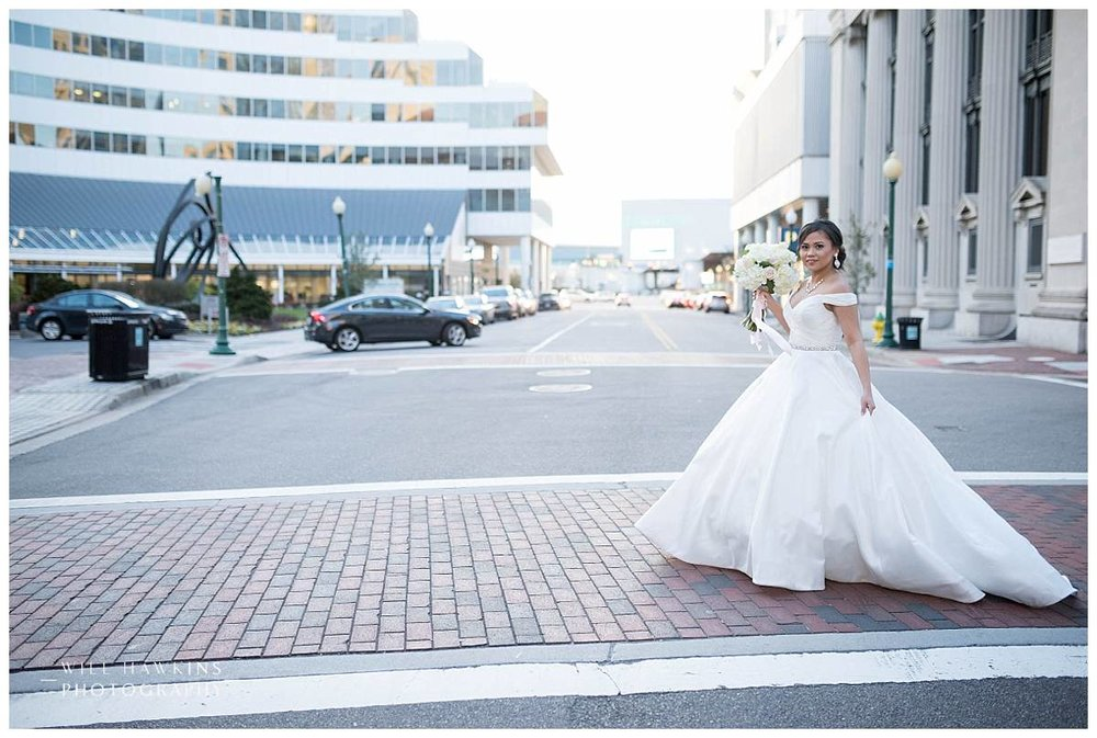 Will Hawkins Photography Bridal Portraits Hilton Norfolk Main Virginia Wedding Photographer Norfolk Wedding Photography Norfolk Wedding Photographer