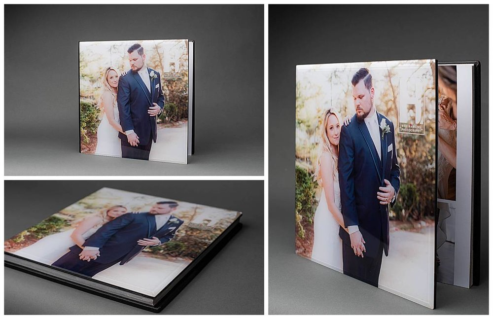 Our 12x12 custom acrylic album.