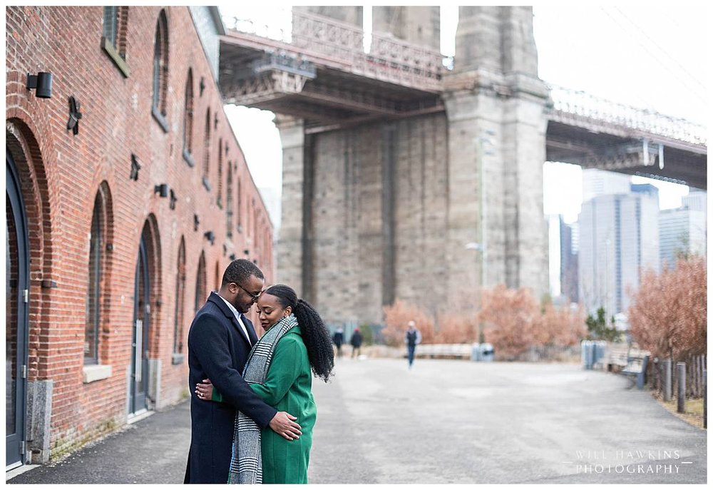 New York Engagement Session New York Photographer Brooklyn Bridge Engagement Session Will Hawkins Photography Brooklyn Engagement Photographer New York Wedding Photographer