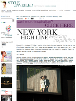 style unveiled high line shoot