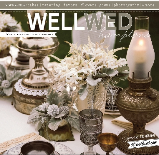wellwed hamptons cover winter shoot