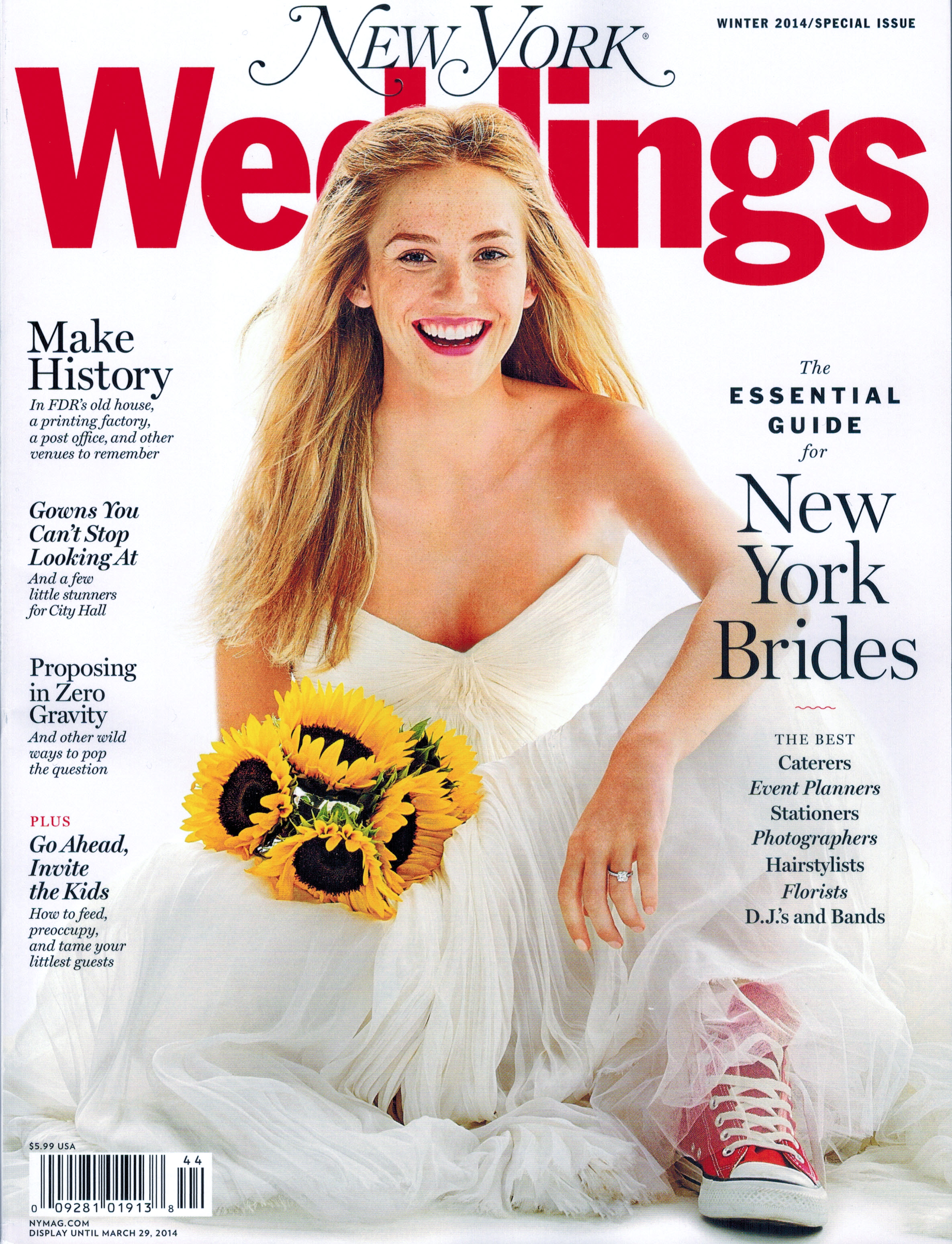 New York Magazine Weddings Winter 2014-2