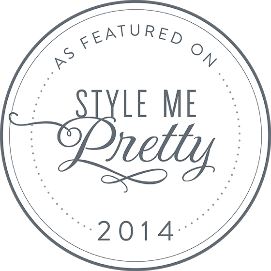 Featured on Style Me Pretty Ang Weddings and Events