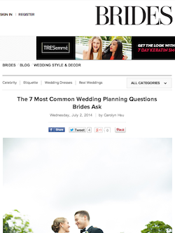 The 7 Most Common Wedding Planning Questions Brides ask