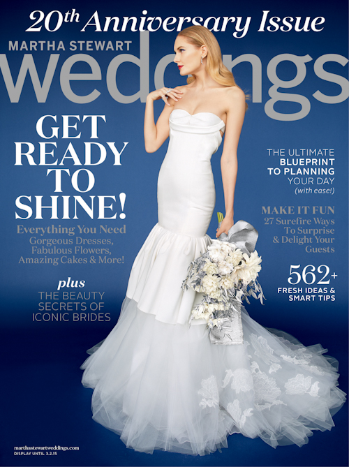 Martha Stewart Weddings 20th Anniversary