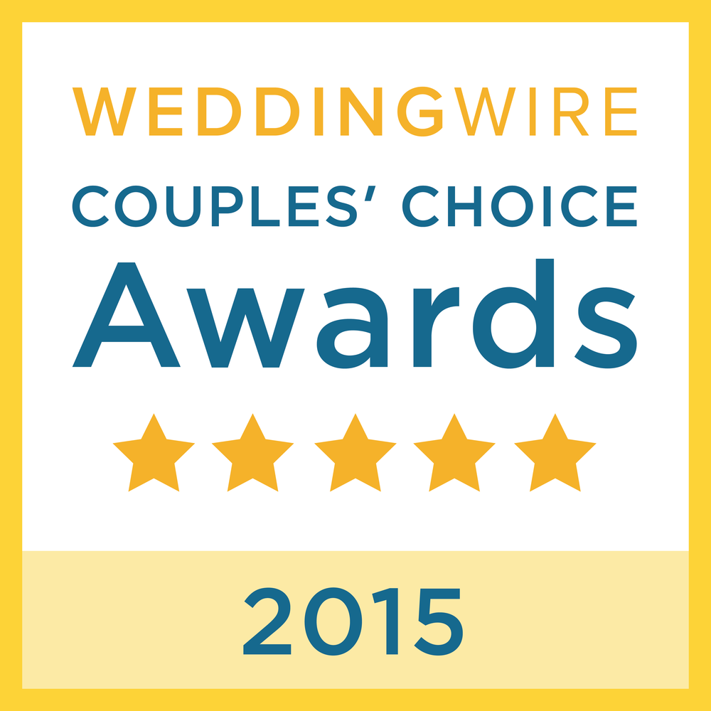 wedding wire couples' choice award 2015 event planner