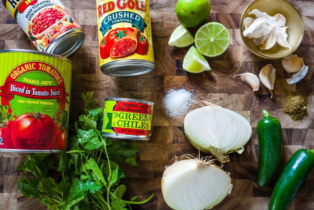 Jenna Paulette's Garlicky Salsa Recipe