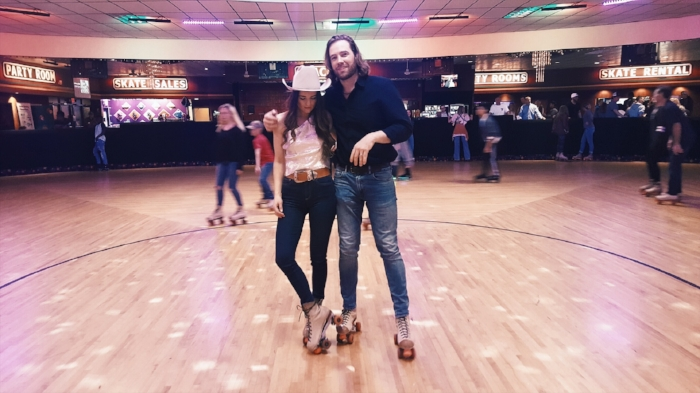 Jenna Paulette Roller Rink Birthday Party