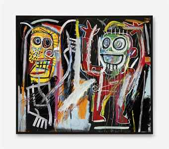 Jean-Michel Basquiat 'Dustheads'