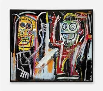 Jean-Michel Basquiat 'Dustheads'