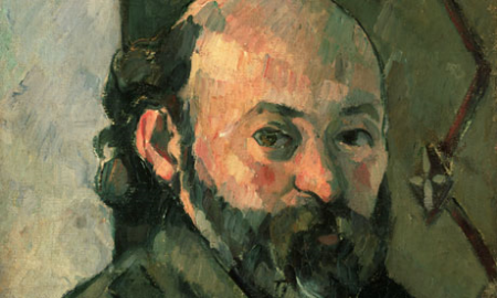 Paul Cézanne, self-portrait, ca 1880