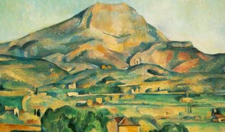 Cézanne,Mont Sainte-Victoire seen from Bellevue, 1885