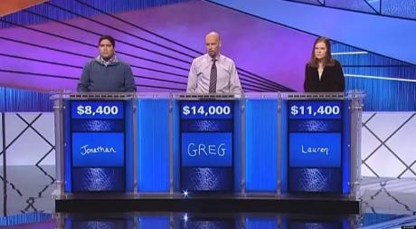 Who doesn't enjoy a bit of Jeopardy?