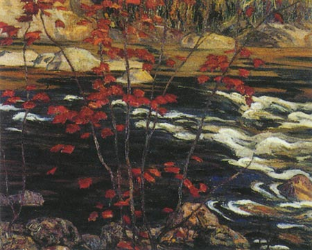 A.Y. Jackson,  Red Maple,  1914