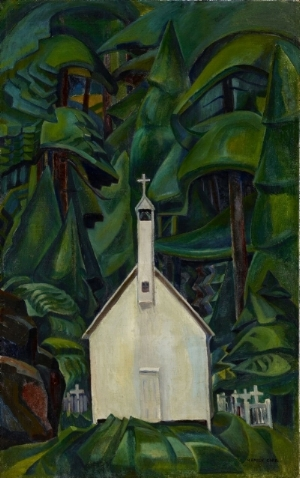 Emily Carr,  The Indian Church,  1929