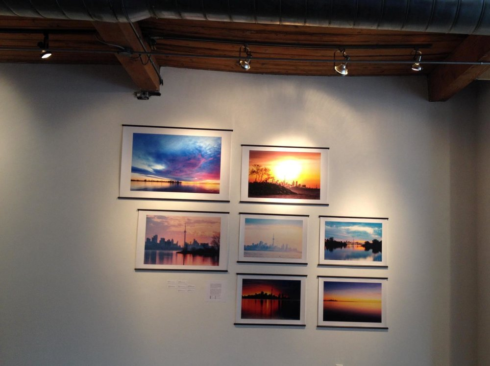 Artwork from The Toronto Sunrise Series Collection by Taku Kumabe