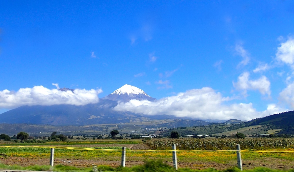 Mt.Orizaba, the tallest peak in Mexico