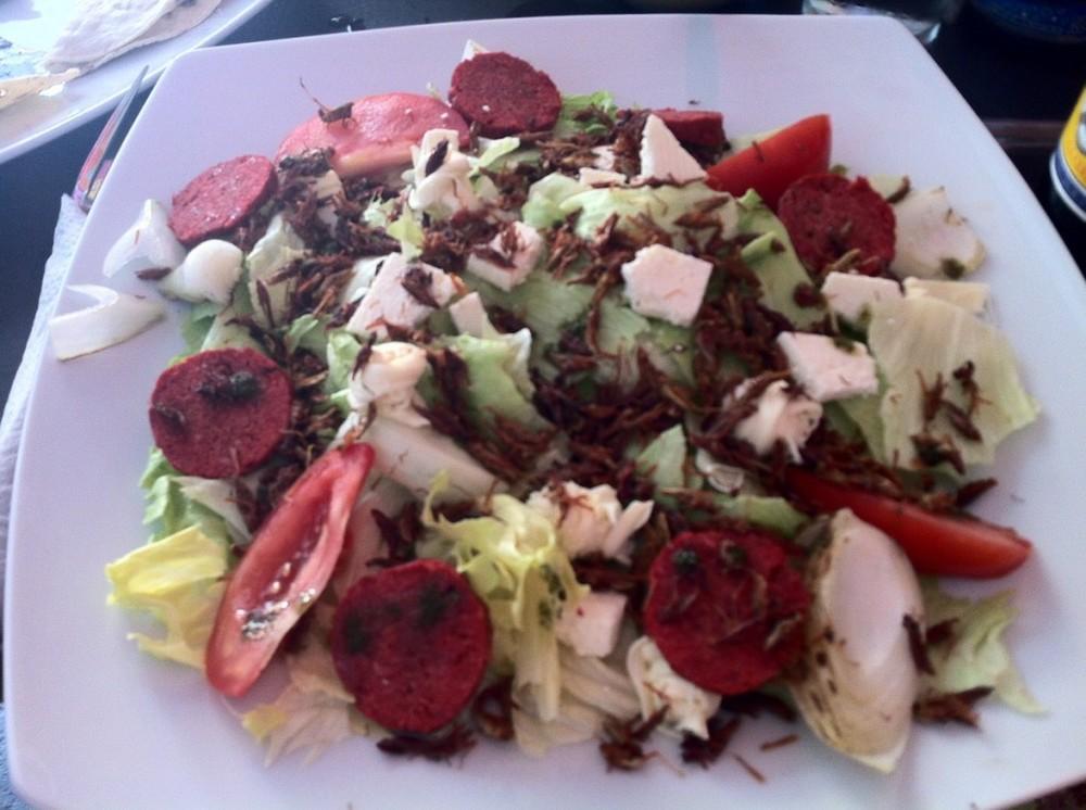 Cricket Salad