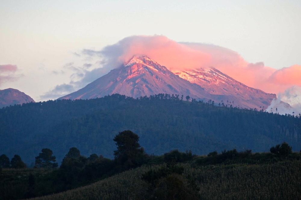 Mt. Iztaccihuatl