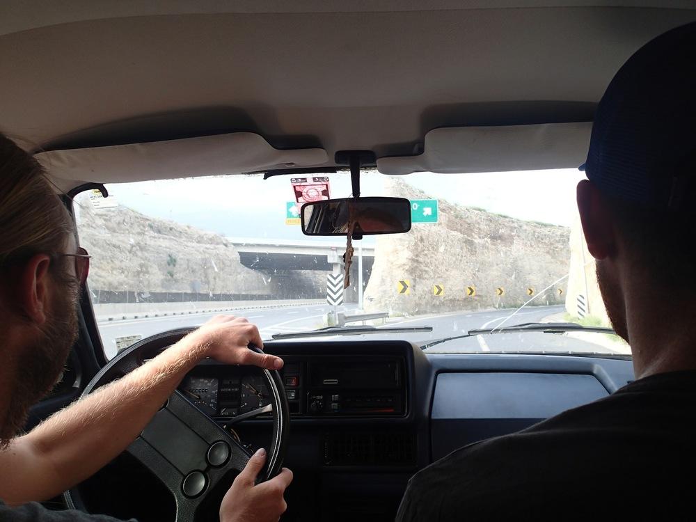 Still cruisin' towards Mexico City