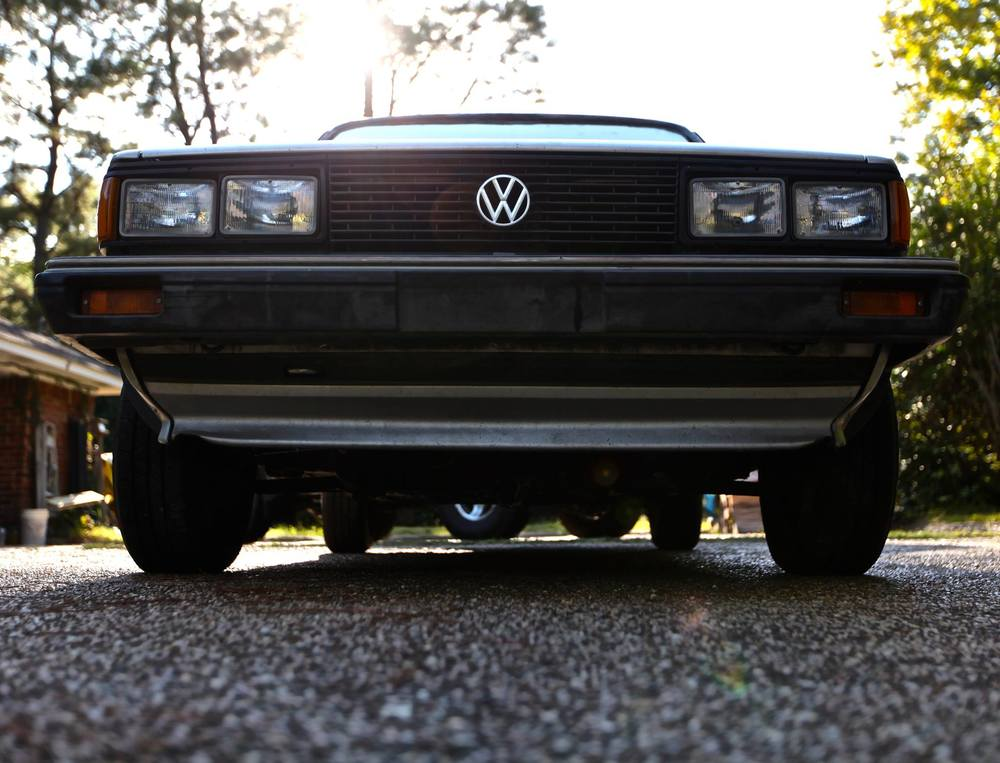 Shaky Shakira 1982 VW Jetta. Of course she'll make it... She's a VW. Right?