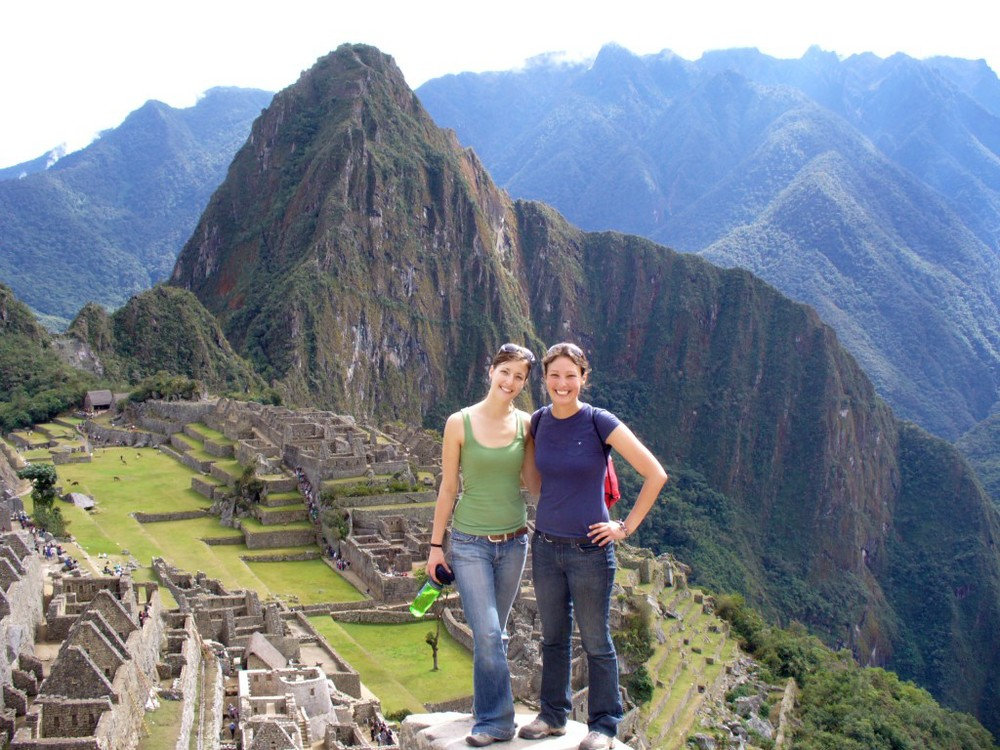 Amanda at Machu Picchu