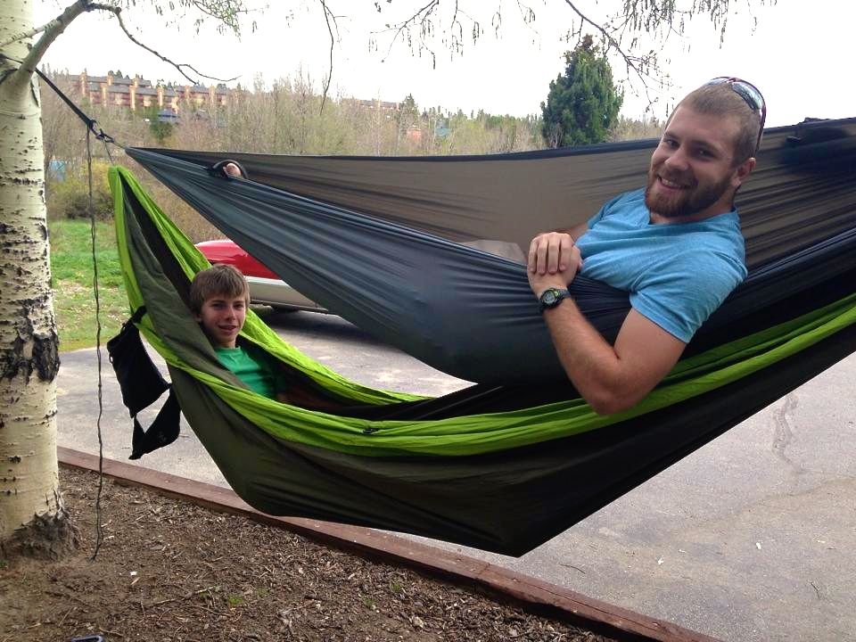 """We are loving Hambunks on our roadtrip. Easy to set up, fun, and comfortable. I can't believe how strong and well made these are.""  Photo by Jackson"